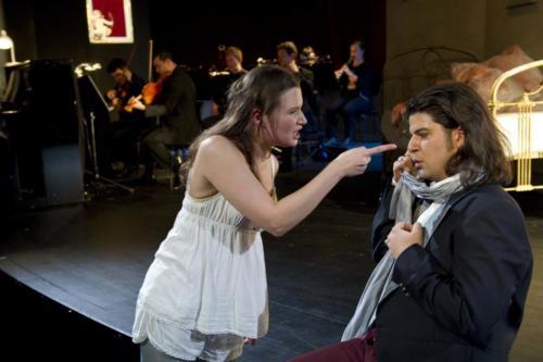 """Als Susanna in """"Cherubino mischt sich ein"""" am Staatstheater Nürnberg"""